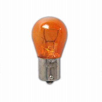 Bollamp oranje 12V 21W - BA15s