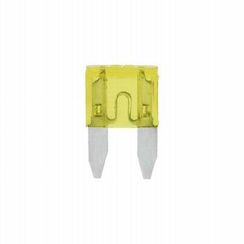 Mini steekzekering 20 ampere (geel)