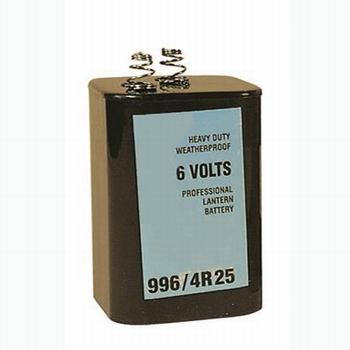 Blokbatterij 6V