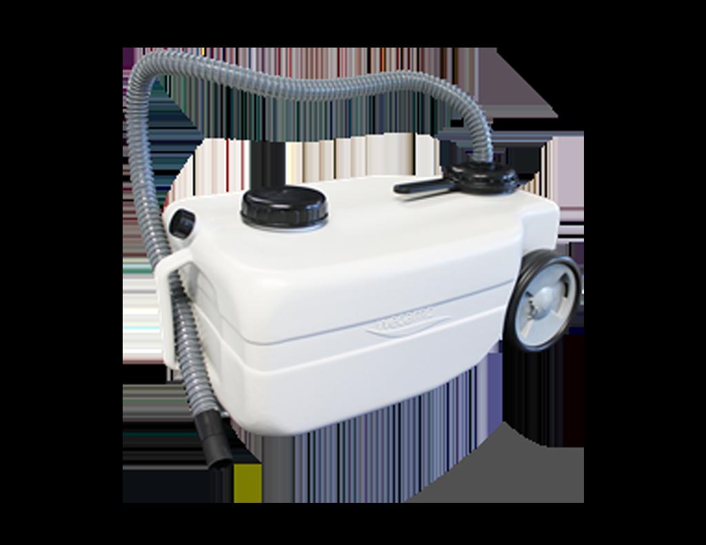 Vuilwater roltank  25 liter