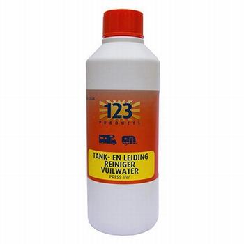 123 vuilwatertank reiniger