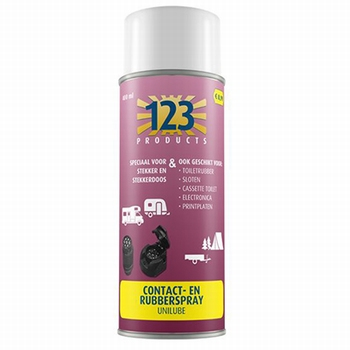 123 Contact & rubberspray