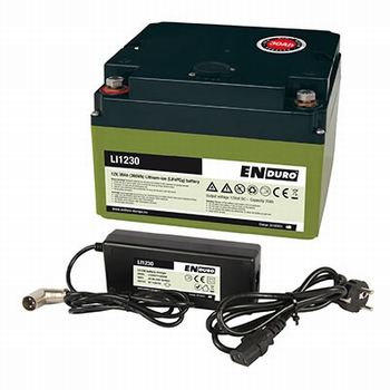 Enduro lithium-ion accu LI1230 Incl. lader