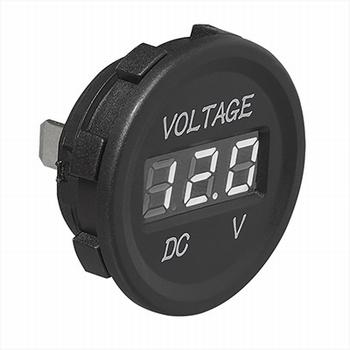 Digitale voltmeter inbouw 6/30V