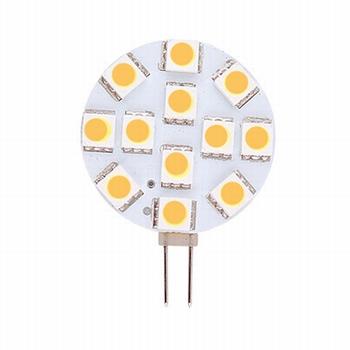 Ledlamp 12V 1,8W - G4 rond