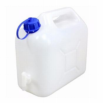 Jerrycan / watertank met kraan 5ltr.