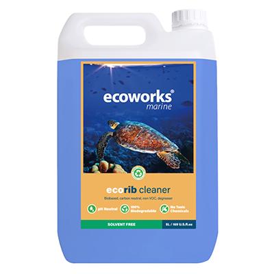 Ecorib rubberboot cleaner