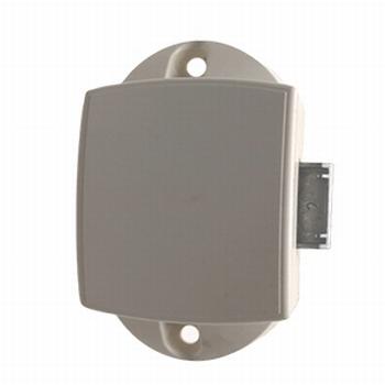 Pushlock-slot spanjolet enkelzijdig wit