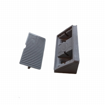 Meubel / hoekverbinder grijs