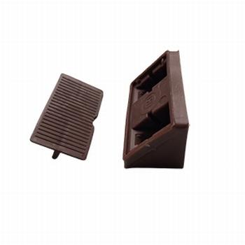 Meubel / hoekverbinder bruin