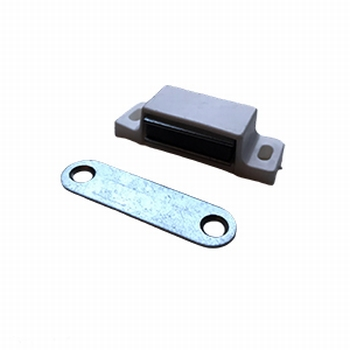 Magneetsluiting 46mm x 15mm wit