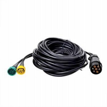 Kabelset 7 polig 9m met connectors