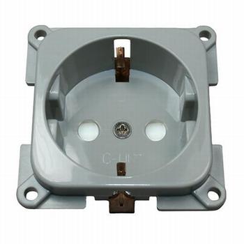 C-line stopcontact l.grijs