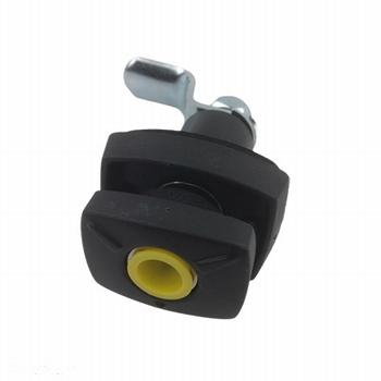 Disselbakslot zwart zonder cilinder