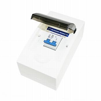 Zekeringkast met zekeringautomaat 10A