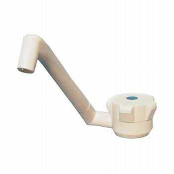 klem voor neuswiel met kantelbare hendel 48mm  -p/stuk