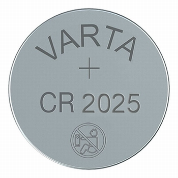 Varta lithium batterij CR2025