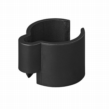 Tentstok kabelclip  Nylon 22mm-32mm zwart