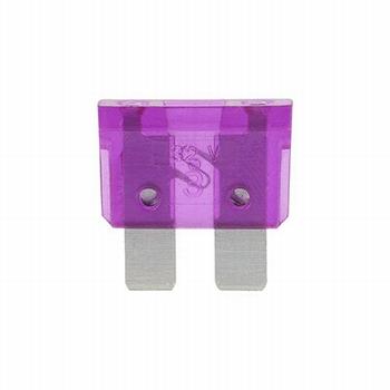 Steekzekering 3 ampere (paars)
