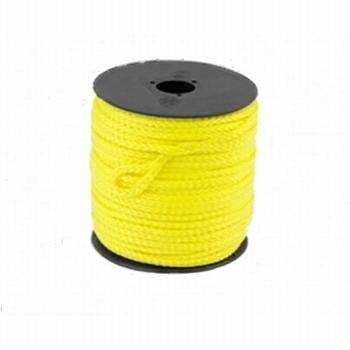 Scheerlijn nylon op rol geel 5mm./30mtr.