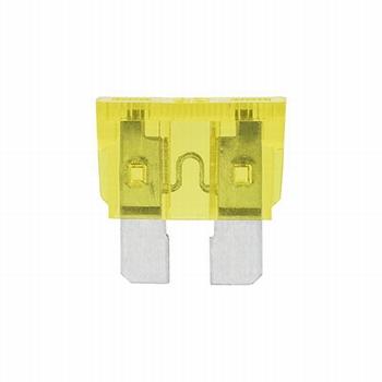 Steekzekering 20 ampere (geel)