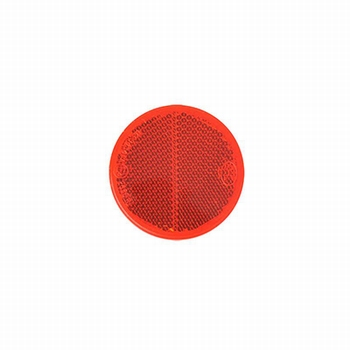 Reflector rond rood Ø 60