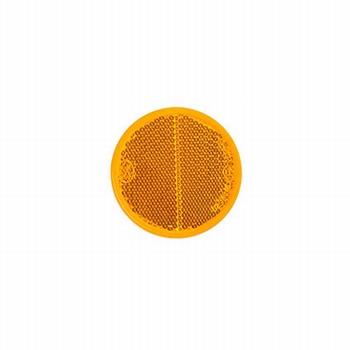 Reflector rond oranje Ø 60