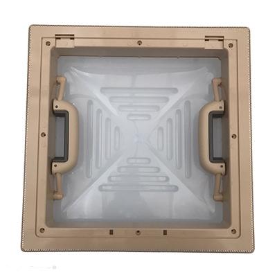 Dakluik MPK 28x28 beige (H-)