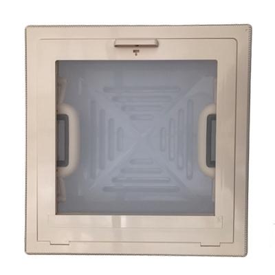 Dakluik MPK 28x28 creme/wit  (H-)
