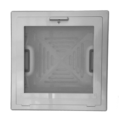Dakluik MPK 28x28 grijs  (H-)