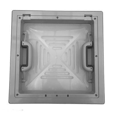 Dakluik MPK 40x40 grijs (H-V)