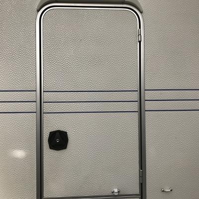 Fawo deurslot rechts zwart compleet