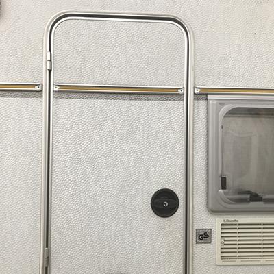 Oberholz deurslot links zwart compleet