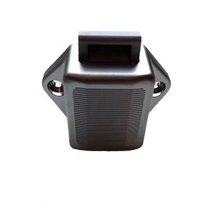 Pushlock mini zilvergrijs