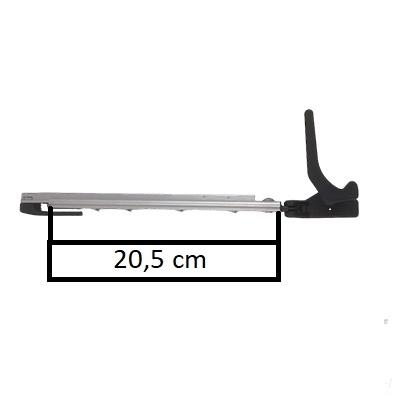 Raamuitzetter klik links Polyfix 300 serie 23cm