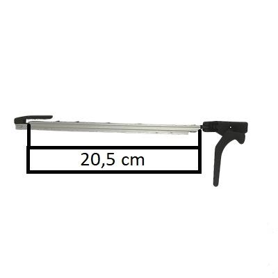 Raamuitzetter klik rechts Polyfix  300 serie 23cm