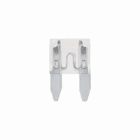 Mini steekzekering 25 ampere (transparant)