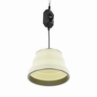 Opvouwbare hanglamp 15cm