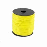 Scheerlijn op rol geel 3mm