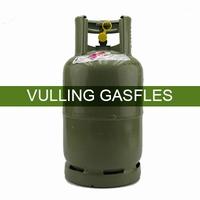 Vulling gasfles groen