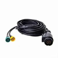 Kabelset 13 polig 5m met connectors