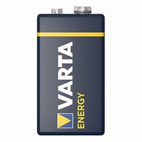 Varta alkaline blokbatterij 9V