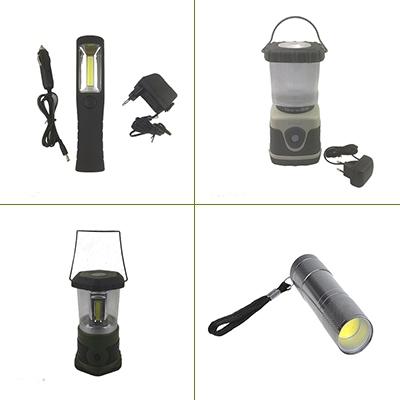 Campinglampen & zaklampen
