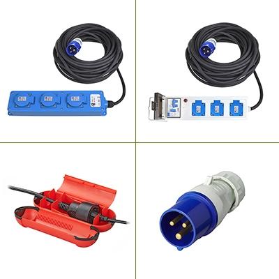 CEE kabels & stekkers