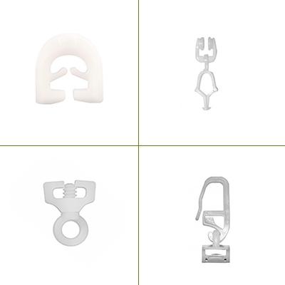 Gordijnrail onderdelen