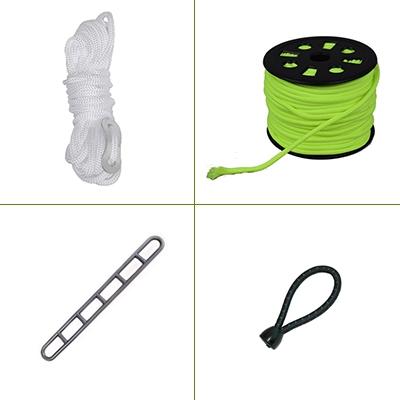 Scheerlijnen & tent elastiek