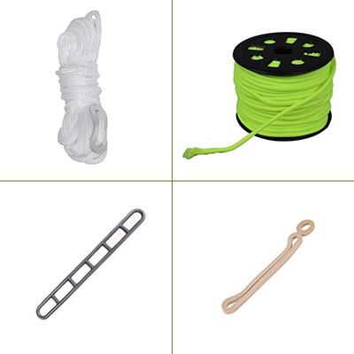Scheerlijnen & tent-spanners