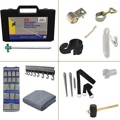 Tent onderdelen & accessoires