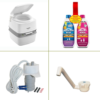 Toilet & sanitair