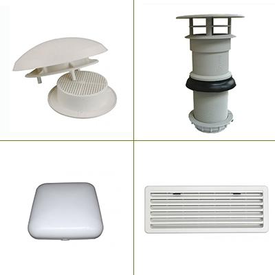 Ventilatieroosters & Beluchtingskappen